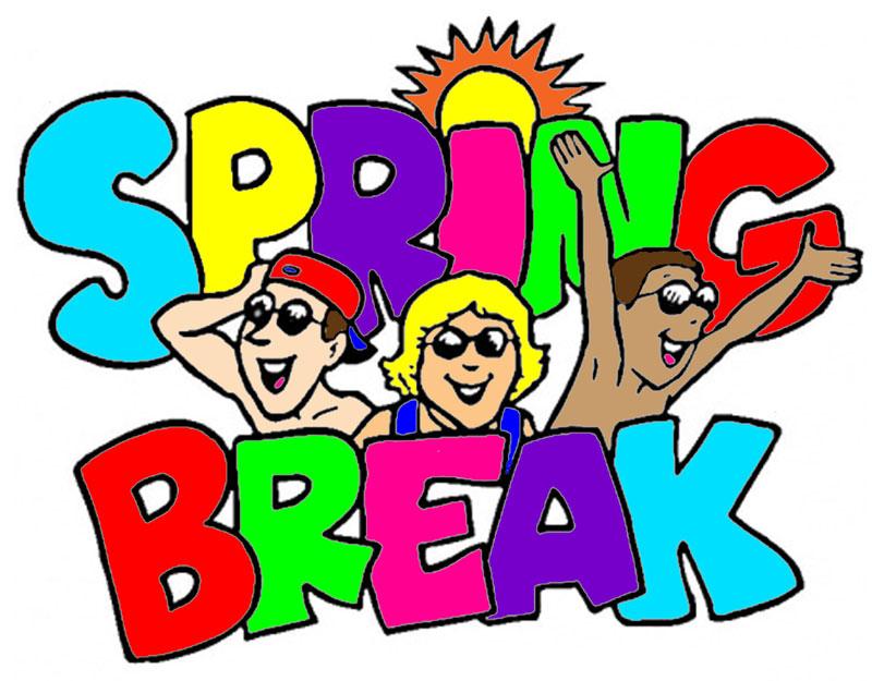 Clip Art Spring Break1